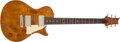 Musical Instruments:Electric Guitars, 2003 Paul Reed Smith (PRS) Singlecut Amber Electric Guitar,#75266....