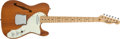 Musical Instruments:Electric Guitars, 1969 Fender Telecaster Thinline Natural Electric Guitar #233696....