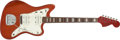 Musical Instruments:Electric Guitars, 1966 Fender Jazzmaster Red Electric Guitar, #F176790....
