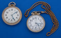 Timepieces:Pocket (post 1900), Two Elgin's 16 Size Pocket Watches Runners. ... (Total: 2 Items)