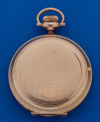 Elgin 6 Size Pocket Watch With Fancy Dial