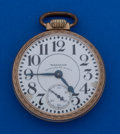 Timepieces:Pocket (post 1900), Waltham 23 Jewel Vanguard Pocket Watch. ...