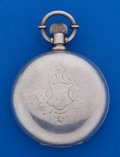 Timepieces:Pocket (post 1900), Waltham 18 Size 4 1/2 Oz. Coin Silver Appleton Tracy Pocket Watch....