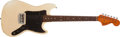 Musical Instruments:Electric Guitars, 1978 Fender Musicmaster Olympic White Electric Guitar, #S812895....