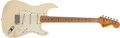 Musical Instruments:Electric Guitars, 1972 Fender Stratocaster Olympic White Electric Guitar, #371572....