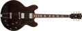 Musical Instruments:Electric Guitars, 1974/75 Gibson ES-335 Walnut Electric Guitar, # 331877....