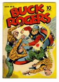 Golden Age (1938-1955):Science Fiction, Buck Rogers #5 (Eastern Color, 1943) Condition: GD/VG....