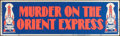 "Movie Posters:Mystery, Murder on the Orient Express (Paramount, 1974). Banner (24' X 82"").Mystery.. ..."