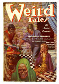 Pulps:Horror, Weird Tales - February 1937 (Popular Fiction, 1937) Condition:VG/FN....
