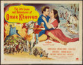 "Movie Posters:Adventure, Omar Khayyam (Paramount, 1957). Half Sheet (22"" X 28"") Style A.Adventure.. ..."