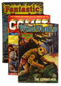 Pulps:Science Fiction, Assorted Fantasy and Science Fiction Pulps Group (Various,1936-46).... (Total: 6 Comic Books)