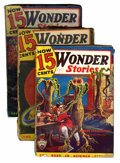 Pulps:Science Fiction, Astounding Stories/Wonder Stories Group (Street & Smith,1933-41) Condition: Average FR.... (Total: 17 Comic Books)