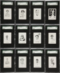 Baseball Cards:Sets, 1950-56 Callahan Baseball High Grade Near Set (79/82). ...