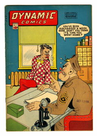 Dynamic Comics #17 (Chesler, 1946) Condition: VG/FN