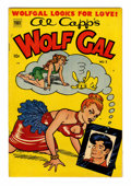 Golden Age (1938-1955):Humor, Al Capp's Wolf Gal #2 (Toby Publishing, 1952) Condition: FN/VF....