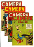 Golden Age (1938-1955):Non-Fiction, Camera Comics #5 and 7-9. Group (U. S. Camera Publishing Corp.,1945-46).... (Total: 4 Comic Books)