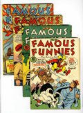 Golden Age (1938-1955):Miscellaneous, Famous Funnies Group (Eastern Color, 1941-43).... (Total: 4 Comic Books)
