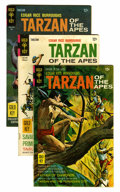 Silver Age (1956-1969):Adventure, Tarzan Group (Gold Key, 1963-70) Condition: Average FN.... (Total: 16 Comic Books)