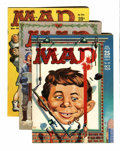 Magazines:Mad, Mad Magazine Group (EC, 1959-70) Condition: Average FN-.... (Total: 25 Comic Books)