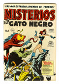 Golden Age (1938-1955):Horror, Misterios del Gato Negro #1 File Copy (Harvey, 1953) Condition:FN+....