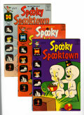 Bronze Age (1970-1979):Cartoon Character, Spooky Spooktown File Copies Box Lot (Harvey, 1969-76) Condition:Average NM-....
