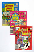 Modern Age (1980-Present):Humor, Jughead- Related Digests Box Lot (Archie, 1977-95) Condition:Average VF....