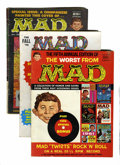 Magazines:Mad, Mad Group (EC, 1958-74).... (Total: 49 Comic Books)