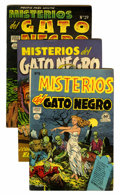 Golden Age (1938-1955):Horror, Misterios del Gato Negro File Copy Group (Harvey, 1953-55)Condition: Average FN+.... (Total: 19 Comic Books)
