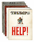 Magazines:Mad, Mad/Trump Group (EC, 1955-57) Condition: Average VG.... (Total: 5Comic Books)