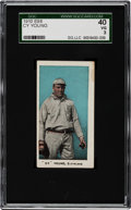 Baseball Cards:Singles (Pre-1930), 1910 E98 Anonymous Cy Young SGC 40 VG 3....