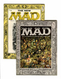 Magazines:Mad, Mad #25 and 27 Group (EC, 1955-56) Condition: Average FN....(Total: 2 Comic Books)