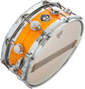 Musical Instruments:Drums & Percussion, 2000 DW Edge Rare Tangerine Pearl USA Snare Drum, #522463...