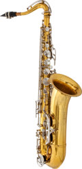Musical Instruments:Horns & Wind Instruments, Circa 1962 King Zephyr Tenor Saxophone # 382385...
