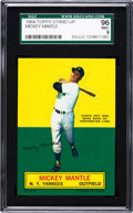 Baseball Cards:Singles (1960-1969), 1964 Topps Stand-Up Mickey Mantle SGC 96 Mint 9 - Pop 1 With NoneHigher! ...