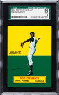 Baseball Cards:Singles (1960-1969), 1964 Topps Stand-Up Roberto Clemente SGC 96 Mint 9 - Pop 2, NoneHigher! ...