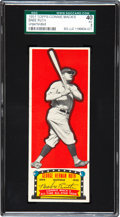 Baseball Cards:Singles (1950-1959), 1951 Topps Connie Mack All-Time All-Stars Babe Ruth SGC 40 VG 3 -Unperforated....
