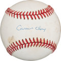 "Autographs:Baseballs, 1990's Muhammad Ali ""Cassius Clay"" Single Signed Baseball...."