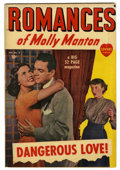 "Golden Age (1938-1955):Romance, Molly Manton's Romances #2 Davis Crippen (""D"" Copy) pedigree (Marvel, 1949) Condition: VF+...."