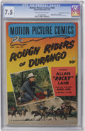 """Golden Age (1938-1955):Miscellaneous, Motion Picture Comics #109 Davis Crippen (""""D"""" Copy) pedigree(Fawcett, 1952) CGC VF- 7.5 Off-white to white pages...."""