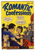 "Golden Age (1938-1955):Romance, Romantic Confessions V1 #7 Davis Crippen (""D"" Copy) pedigree(Hillman Publications, 1950) Condition: VF-...."