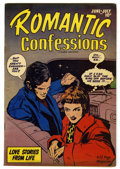 "Golden Age (1938-1955):Romance, Romantic Confessions V1 #9 Davis Crippen (""D"" Copy) pedigree(Hillman Publications, 1950) Condition: VF-...."