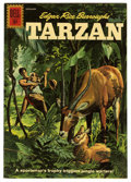Silver Age (1956-1969):Adventure, Tarzan #127 (Dell, 1961) Condition: VF....