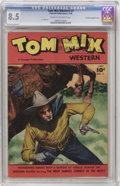 Golden Age (1938-1955):Western, Tom Mix Western #7 Crowley Copy/File Copy (Fawcett, 1948) CGC VF+8.5 Cream to off-white pages....