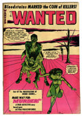 "Golden Age (1938-1955):Horror, Wanted Comics #50 Davis Crippen (""D"" Copy) pedigree (Toytown, 1952)Condition: FN/VF...."