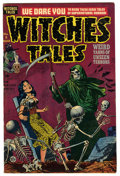 """Golden Age (1938-1955):Horror, Witches Tales #8 Davis Crippen (""""D"""" Copy) pedigree (Harvey, 1952)Condition: VF-...."""