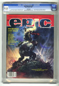Magazines:Miscellaneous, Epic Illustrated #34 (Marvel, 1986) CGC NM/MT 9.8 White pages.Galactus appearance. Arthur Suydam cover . Bernie Wrightson, ...