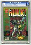 Magazines:Superhero, Hulk #15 (Marvel, 1979) CGC NM+ 9.6 White pages. ...