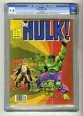 Magazines:Superhero, Hulk #23 (Marvel, 1980) CGC NM 9.4 White pages. Last full-colorissue. Banner is attacked. Walt Simonson cover. Howard Chayk...