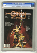 Magazines:Miscellaneous, Marvel Comics Super Special #21 Conan (Marvel, 1982) CGC NM+ 9.6White pages....