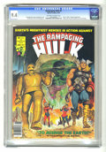 Magazines:Superhero, The Rampaging Hulk #9 (Marvel, 1978) CGC NM 9.4 Off-white to whitepages. ...